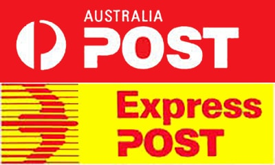 Image result for Auspost express shipping logo